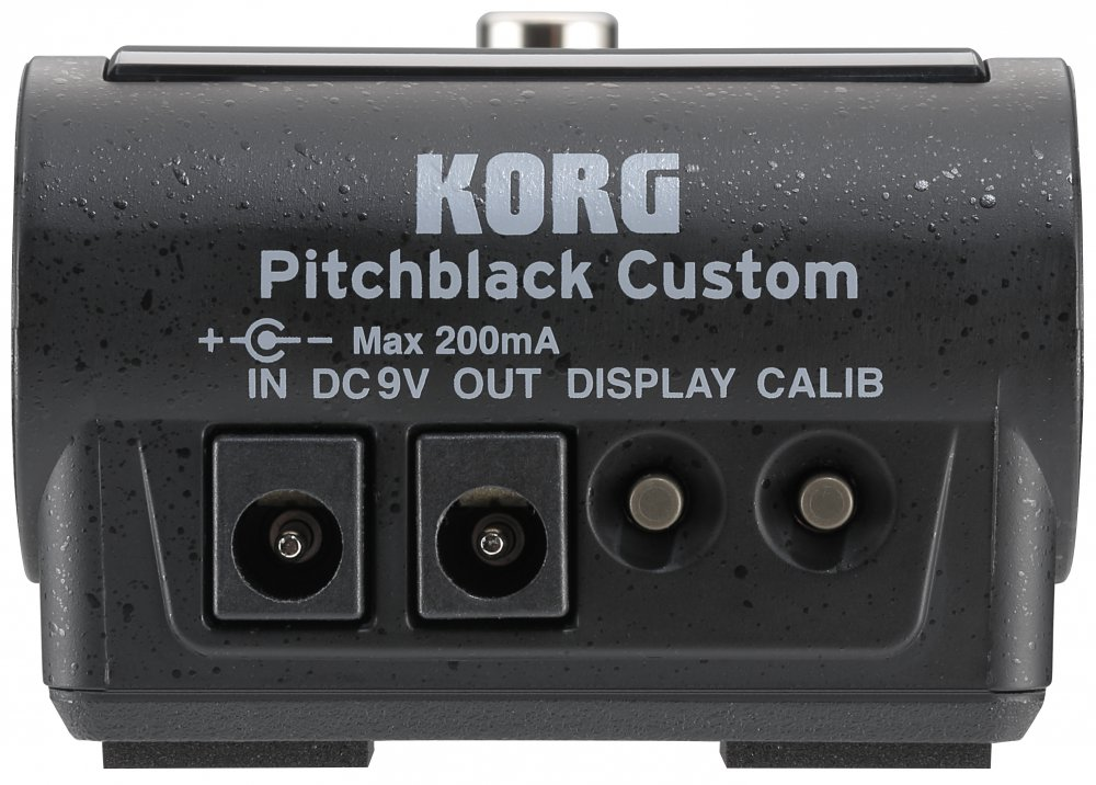 Korg PITCHBLACK Custom modrá - Chromatická ladička Custom Shop